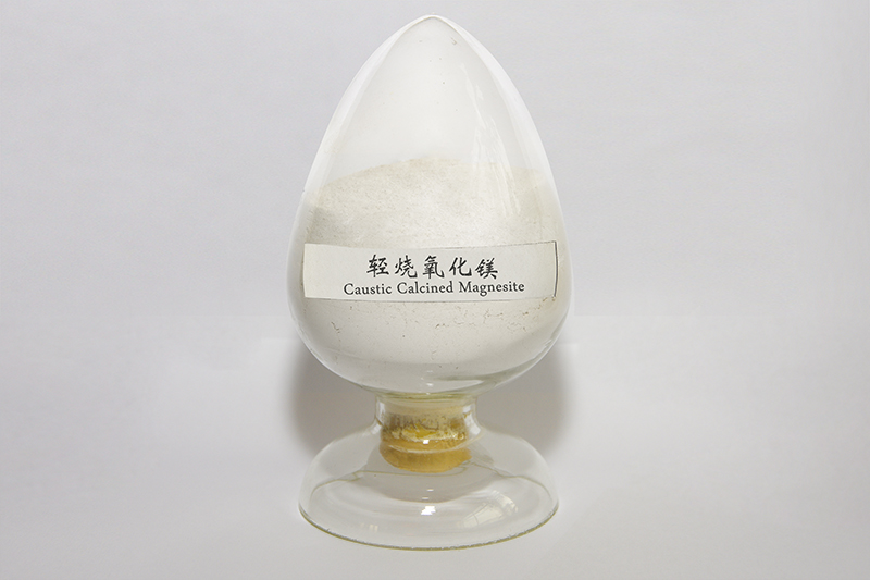 Lightly burned magnesium oxide